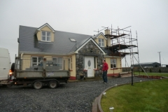 chimney relining for new stove and damaged existing flue at old fireplace |  Oranmore Co. Galway