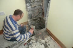 Chimney relining work and restoration of flue liner  - Co. Galway