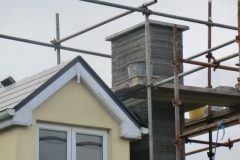 Chimney stack rendered and new chimney cap |  chimney stack capping installed