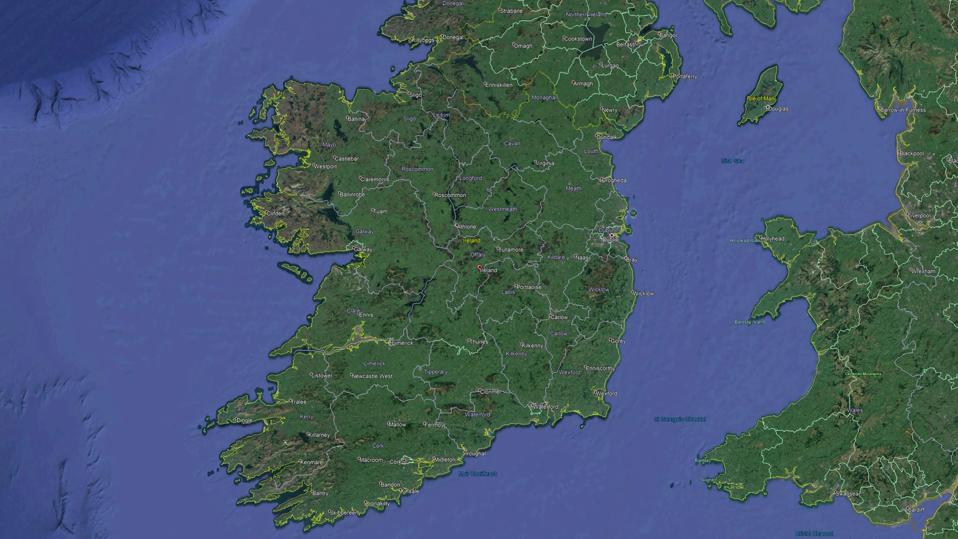 videoblocks-ireland-with-flag-3d-earth-in-space-zoom-in-on